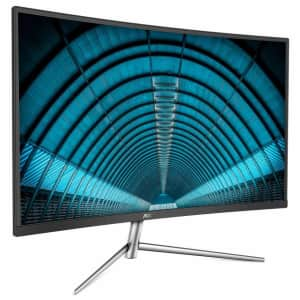 """AOC 31.5"""" 1080p Curved LED LCD Display for $180"""