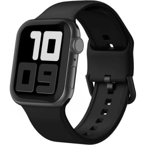 Blduzn Replacement Sport Band for Apple Watch for $5