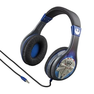 eKids Star Wars Headphones for Kids with Built in Volume Limiting Feature for Kid Friendly Safe for $35