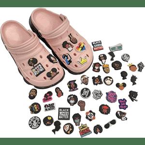 Sosofrank Black Lives Matter Shoe Charm 50-Pack for $12