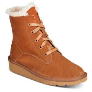 Style & Co. Women's Abbbaa Cold Weather Lace-Up Boots for $10