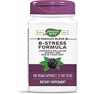 Nature's Way B-Stress with Siberian Eleuthero, 100 Capsules for $18