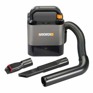 Worx WX030L.9 20V Power Share Cordless Cube Vac Compact Vacuum, Bare Tool Only for $61
