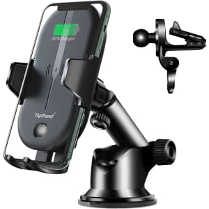 Toptrend 2-in-1 Qi Wireless Car Charger Mount for $13