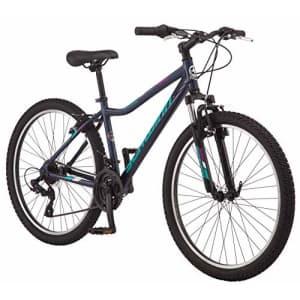 Schwinn High Timber AL Youth/Adult Mountain Bike, Aluminum Frame, 26-Inch Wheels, 21-Speed, Navy for $484