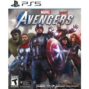Marvel's Avengers for PlayStation 5 for $20
