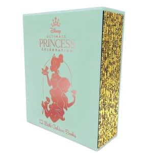 Disney Ultimate Princess Celebration 12 Little Golden Books Boxed Set for $27 for members