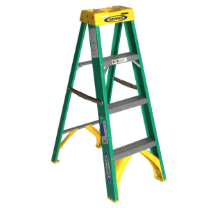 Werner 4-Foot Fiberglass Step Ladder for $55 for Ace Reward members