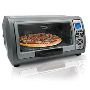 Hamilton Beach Digital Countertop Toaster Oven with Easy Reach Roll-Top Door, 6-Slice, With Bake for $147