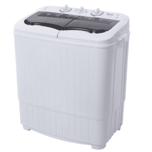 Zokop Compact Portable 2-in-1 Washer and Spin Dryer for $126