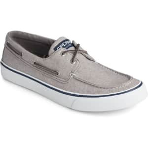 Sperry Men's Bahama II Chambray Sneaker for $34