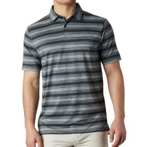 Columbia Men's Omni-Wick Polo Golf Shirt for $17