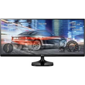 """LG 25"""" UltraWide 1080p IPS Monitor for $150"""