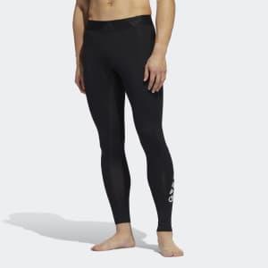 adidas Men's Alphaskin 2.0 Sport Long Tights for $23