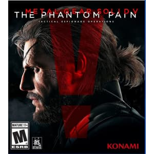 Metal Gear Solid V: The Phantom Pain for PS4: $4.99
