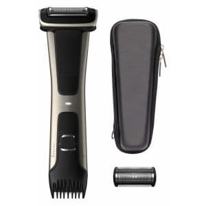Philips Norelco Bodygroom Series 7000 Showerproof Body Trimmer & Shaver Premium Bundle for $70