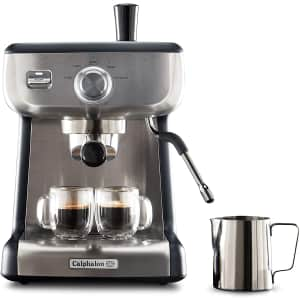 Calphalon Temp iQ 15-Bar Stainless Steel Espresso Machine w/ Steam Wand for $315