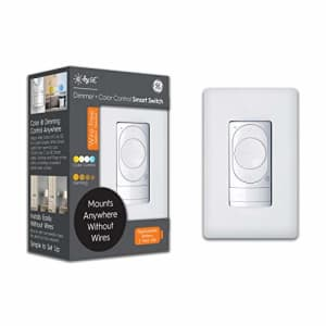 C by GE Wire-Free Dimmer + Color Control Smart Switch, Bluetooth, Battery Powered Smart Switch, for $25