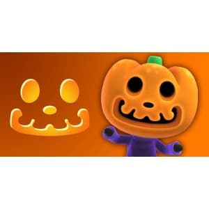 Animal Crossing: New Horizons Jack's Jack-O'-Lantern Carving Pattern for free