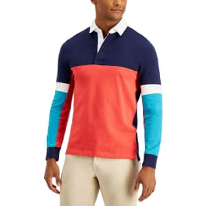 Club Room Men's Rugby Shirt for $19