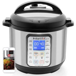 Instant Pot Smart WiFi 6-Quart 8-in-1 Electric Pressure Cooker for $150