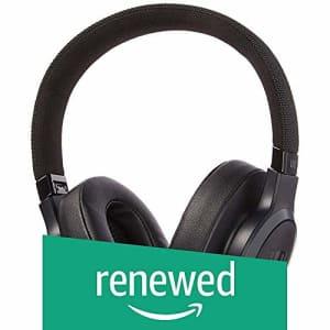 JBL LIVE 500BT Over-the-Ear Headphones - Black - JBLLIVE500BTBLKAM (Renewed) for $58