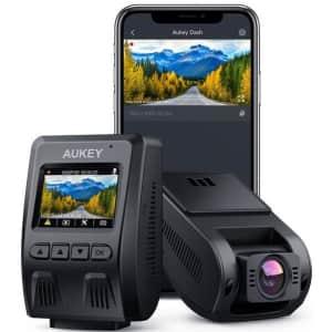 Aukey DR02 P 1080p WiFi Dash Cam for $50