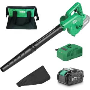 Kimo Cordless Leaf Blower for $110