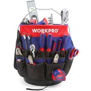 WorkPro Bucket Tool Organizer for $21