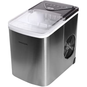 Frigidaire Stainless Steel Ice Maker for $106