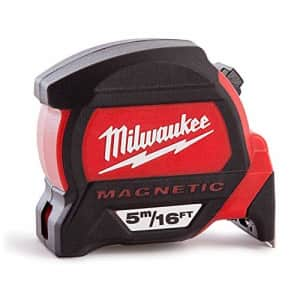 Milwaukee Electric Tool 48-22-0117 5M-16', Magnetic Tape Measure for $39