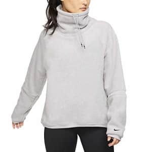 Nike Womens Training Activewear Pullover Top Gray M for $94