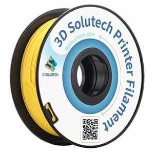 3D Solutech Real Yellow 3D Printer PLA Filament 1.75MM Filament, Dimensional Accuracy +/- 0.03 mm, for $40