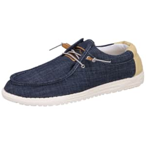 Alpine Swiss Men's Flynn Boat Shoes for $24