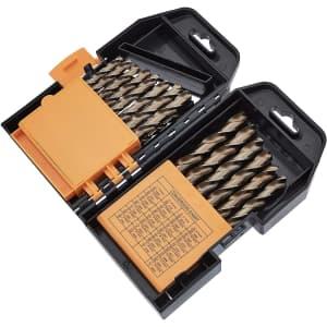 Amazon Basics M35 29-Piece Titanium Drill Bit Set for $20