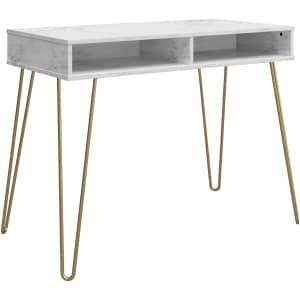 Novogratz Computer Desk with Storage for $78