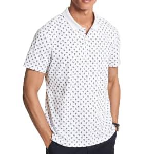 Michael Kors Men's Printed Paisley Polo Shirt for $39