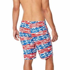 Speedo Men's Swim Trunk Knee Length Boardshort E-Board Printed for $61