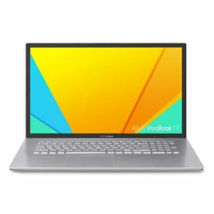 ASUS VivoBook S17 S712 Thin and Light 17.3 FHD, Intel Core i7-10510U CPU, 8GB DDR4 RAM, 256GB PCIe for $1,999