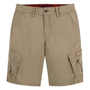 Levi's Boys' Cargo Shorts, Harvest Gold, 3T for $15