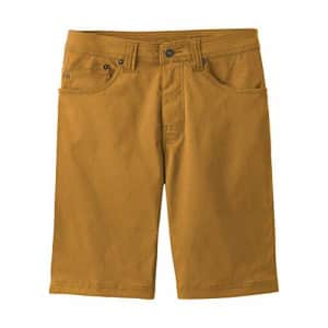 prAna - Men's Brion Lightweight, Water-Repellent, Moisture-Wicking Shorts for Climbing and Everyday for $69