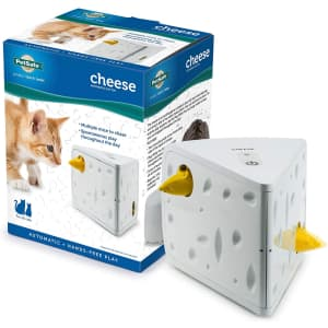 PetSafe Cheese Motion Cat Toy for $25
