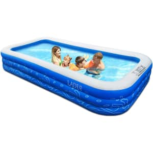 """Lader 150"""" Inflatable Swimming Pool for $80"""