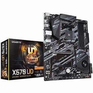 GIGABYTE X570 UD (AMD Ryzen 3000/X570/ATX/PCIe4.0/DDR4/USB3.2 Gen 1/Realtek ALC887/M.2/Realtek GbE for $116