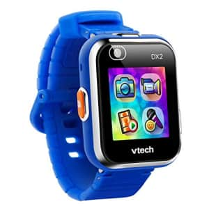 VTech KidiZoom Smartwatch DX2 (Frustration Free Packaging), Blue, Great Gift For Kids, Toddlers, for $45