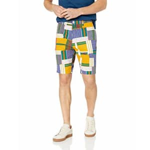 LRG Men's Lifted Research Group Shorts, bluedepths, 33 for $48