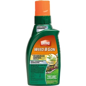 Ortho Weed B Gon Plus Crabgrass Control 32-oz. Concentrate for $26