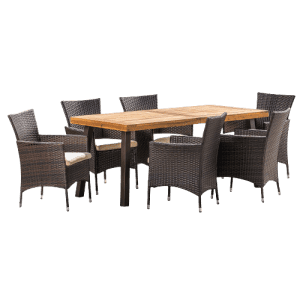 Christopher Knight Home Outdoor 7-Piece Dining Set for $630