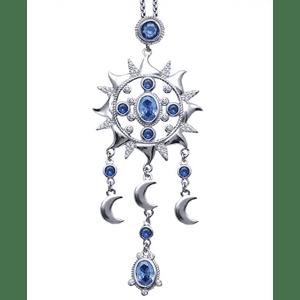 Codilo Sun and Moon Pendant Necklace for $12