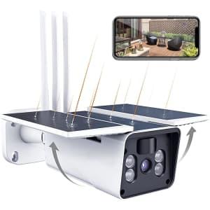 Messtoo 1080p Smart Solar Security Camera for $69